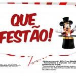 Plaquinhas divertidas Mickey Circo 20
