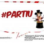 Plaquinhas divertidas Mickey Circo 21