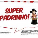Plaquinhas divertidas Mickey Circo 3