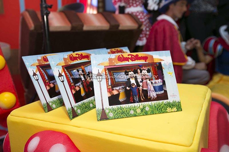 Porta Retrato festa Disney Perylampo Festas