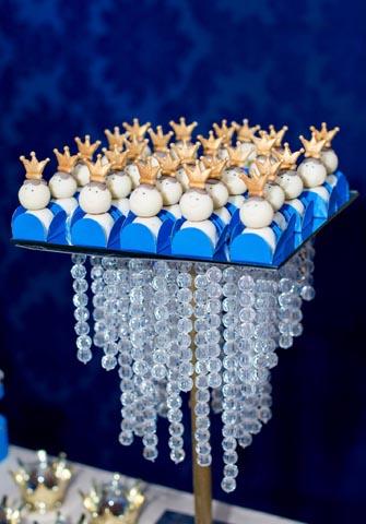 Porta doces- Ideias Festa Príncipe Arthur