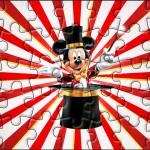 Quebra-cabeça Mickey Circo