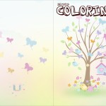 Revista Colorindo Kit Festa Jardim das Borboletas
