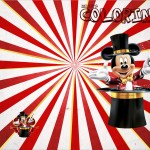 Revista Colorindo Mickey Circo