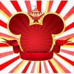 Rotulo Agua Mickey Circo