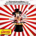 Rotulo Baton Garoto Mickey Circo