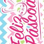 Rotulo Bis Rosa para Pascoa