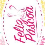 Rotulo Bis Rosa para Pascoa Flores
