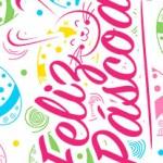Rotulo Bis Rosa para Pascoa Ovinhos