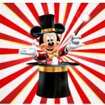 Rotulo Espumante Mickey Circo