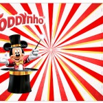 Rotulo Toddynho Mickey Circo