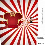 Sacolinha Surpresa Mickey Circo - Parte 1