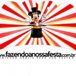 Saias Wrappers para Cupcakes Mickey Circo