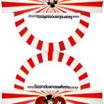 Saquinho de Balas Bolsinha Mickey Circo