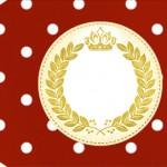 Tag Realeza Vermelho