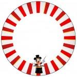 Toppers para doces Mickey Circo