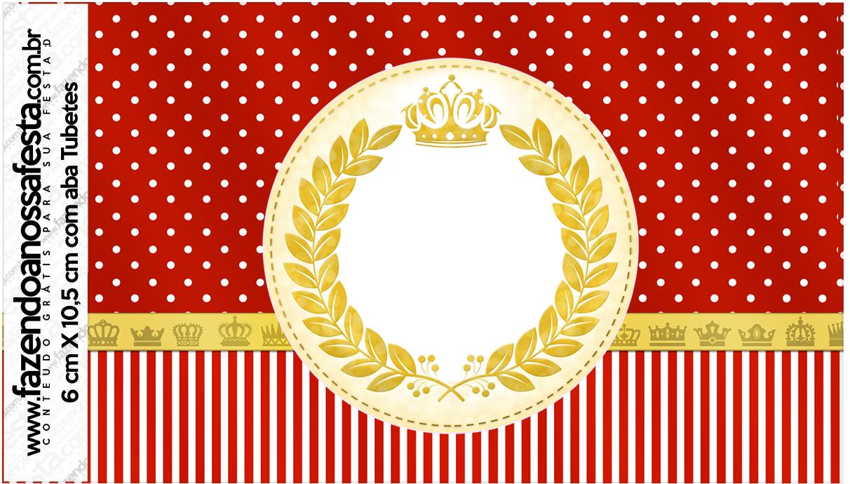 Tubetes Realeza Vermelho