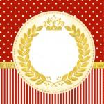 Convite Festa Realeza Vermelho 5