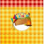 Bala Personalizada Festa Junina