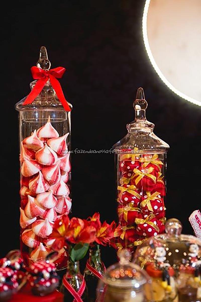 Balas Festa Minnie Vermelha da Maria