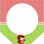 Bandeirinha Chapeuzinho Vermelho