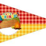 Bandeirinha Sanduiche 4 Festa Junina