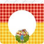 Bandeirinha Varalzinho Quadrado Festa Junina