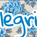 Bis 13 Dia das Mães Floral Azul