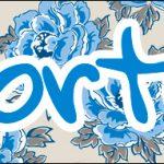 Bis 14 Dia das Mães Floral Azul