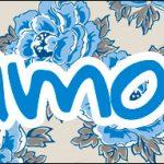 Bis 16 Dia das Mães Floral Azul