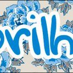 Bis 18 Dia das Mães Floral Azul