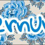 Bis 4 Caixa Bis Dia das Mães Floral Azul