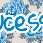 Bis 6 Dia das Mães Floral Azul