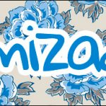 Bis 8 Dia das Mães Floral Azul