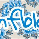 Bis 9 Caixa Bis Dia das Mães Floral Azul