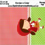 Bisnaga 15gr Chapeuzinho Vermelho