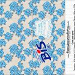 Caixa Dia das Mães Floral Azul