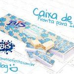 Caixa Bis Dia das Mães Floral Azul – Grátis