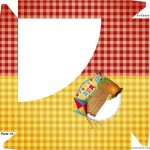 Caixa Bombom - Parte de cima Festa Junina