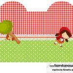 Caixa Coracao Chapeuzinho Vermelho
