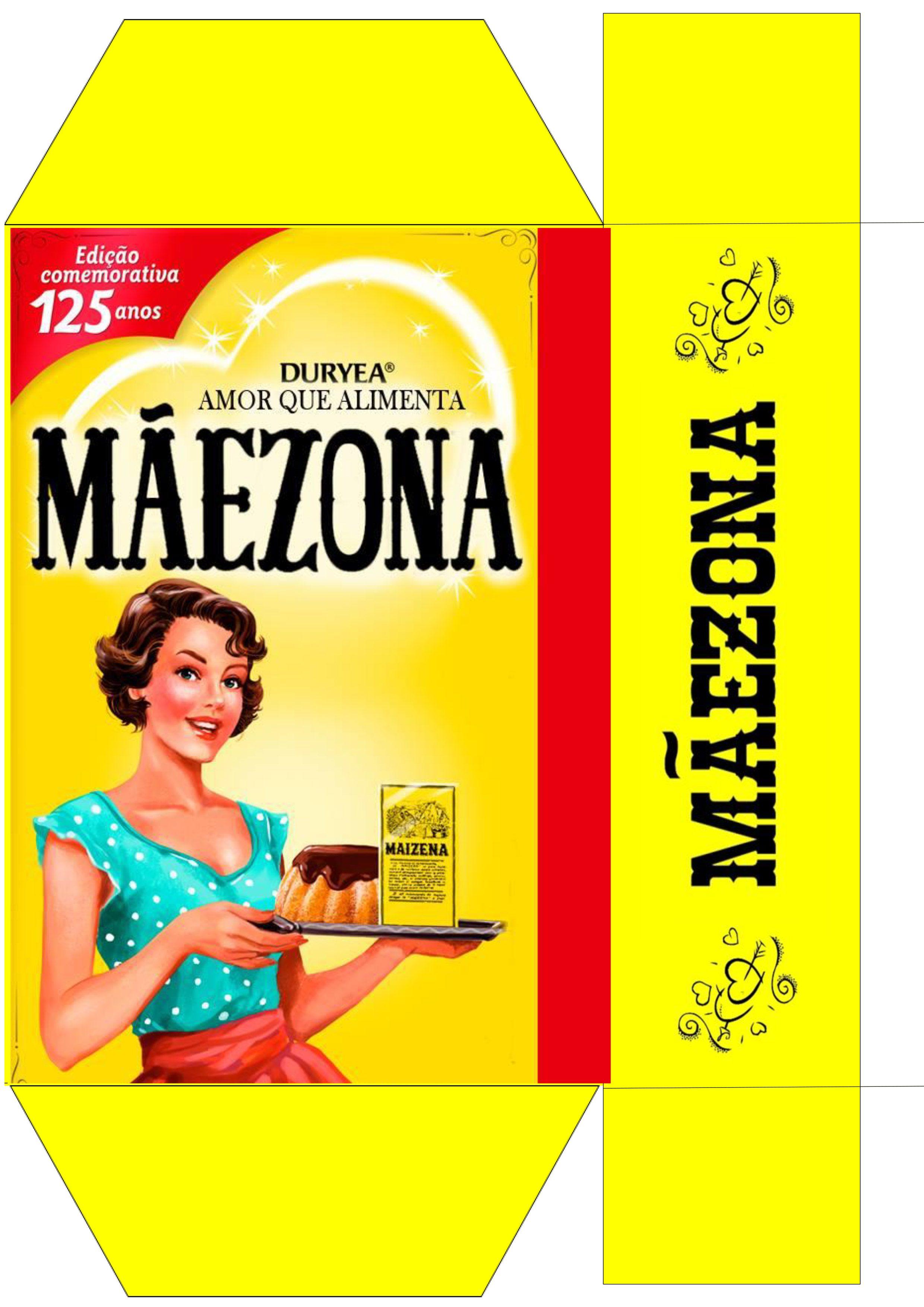 Caixa Mãezona - Modelo 2 Presente Dia das Mães Personalizado - Parte 1