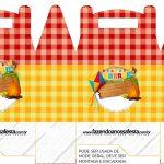 Caixa Maleta Festa Junina