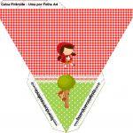 Caixa Piramide 2 Chapeuzinho Vermelho