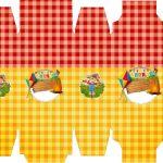 Caixa Sabonete Festa Junina