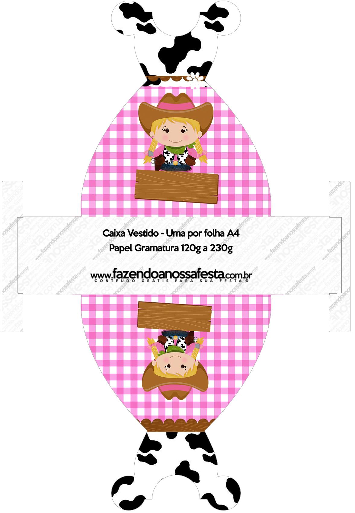 Favoritos Kit Festa Fazendinha Menina - Grátis para Imprimir OW75