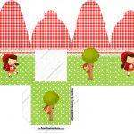Caixa com foto Personalizados Chapeuzinho Vermelho