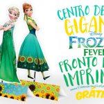 Centro de Mesa Frozen Fever Grátis para Imprimir
