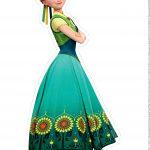 Centro de Mesa Frozen Fever Anna 2-1