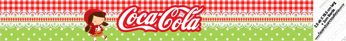 Coca-cola Chapeuzinho Vermelho