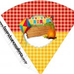 Cone Guloseimas Festa Junina